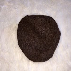 Polo Ralph Lauren Wool Driving Cap, Brown